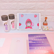 Korean girl's roomの画像(プリ画像)