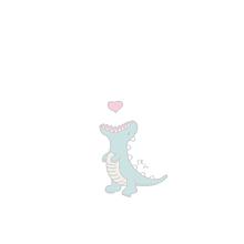 保存はいいね♡きょうりゅうちゃんの画像(恐竜 イラストに関連した画像)