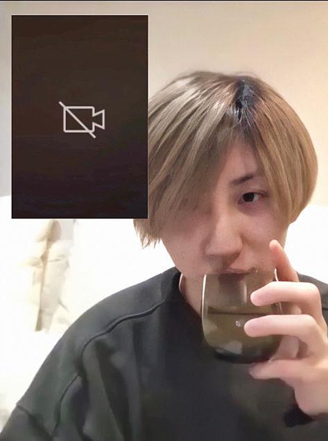 きょもとリモート飲み会💓の画像 プリ画像