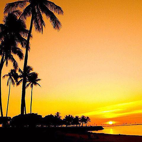 海外 風景 ハワイ 綺麗の画像(プリ画像)