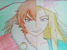 ルシファー&坂本龍馬描いてみたの画像(プリ画像)