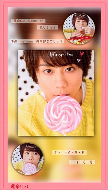 -  運命Girl × Ki  -の画像(プリ画像)