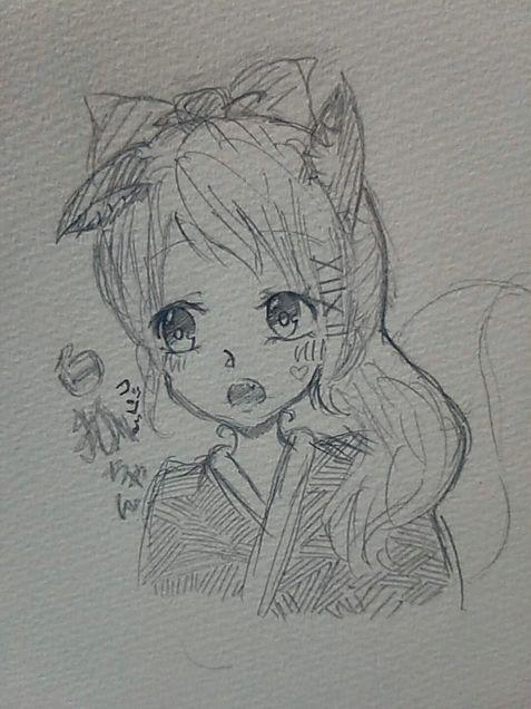白狐さんのイメイラ!の画像(プリ画像)