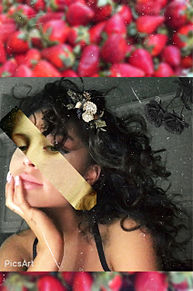 アリアナ✖️🍓の画像(Arianagrandeに関連した画像)