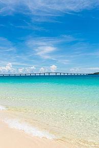 沖縄 宮古島 与那覇前浜ビーチの画像(プリ画像)