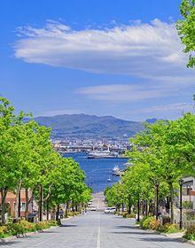 北海道 函館 八幡坂 写真右下のハートを押してねの画像(北海道に関連した画像)