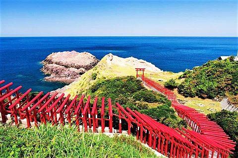 山口県長門市  元乃隅稲成神社  写真右下のハートを押してねの画像 プリ画像