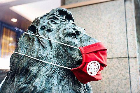 銀座三越  ライオン像  写真右下のハートを押してねの画像(プリ画像)