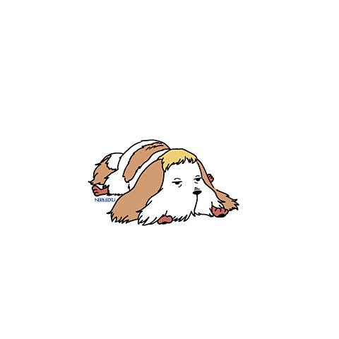 サリマンの使い魔の犬の画像 プリ画像