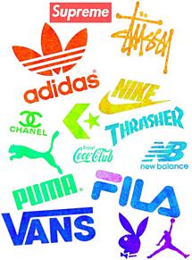スポーツメーカーロゴの画像(スポーツに関連した画像)