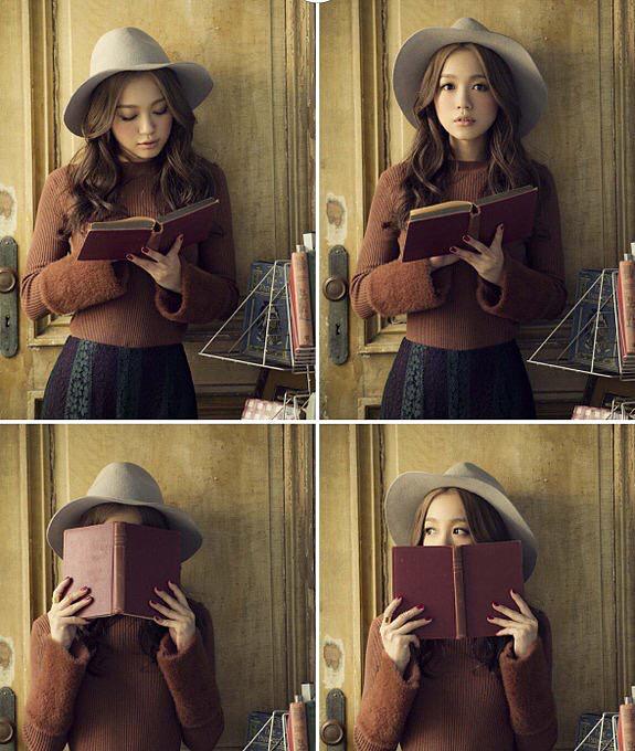 本を抱える西野カナ