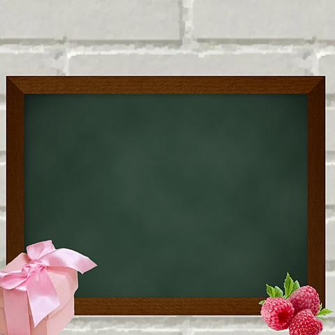 オシャレな黒板の画像(プリ画像)