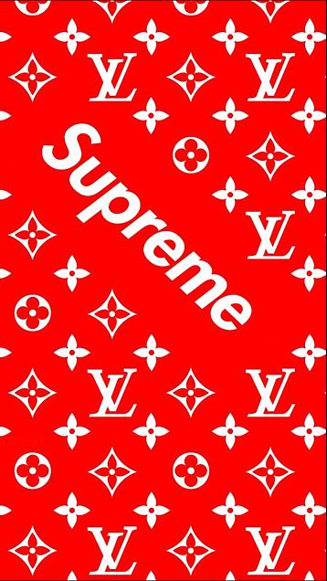 Supreme × LOUIS  VUITTONの画像(プリ画像)