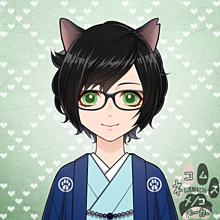 ネコムス 猫耳 可愛くない? 眼鏡有りの画像(#猫耳に関連した画像)