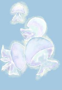 海月の画像(パステルに関連した画像)