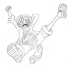 モンキー・D・ルフィ描いてみました!の画像(モンキー・D・ルフィに関連した画像)