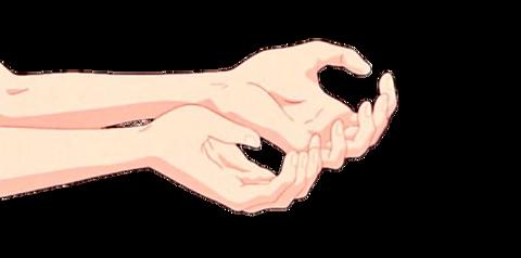 手 保存→ぽちの画像(プリ画像)
