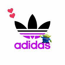 adidas×リトルグリーンメンの画像(プリ画像)