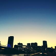 夜明けの画像(景色 夜に関連した画像)