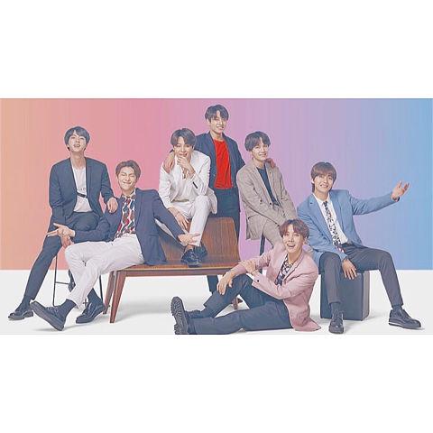 we are BTS!!の画像(プリ画像)