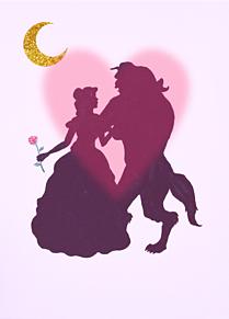 シルエット 美女と野獣の画像24点完全無料画像検索のプリ画像bygmo