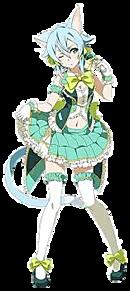 【SAO】シノン 猫耳Ver.の画像(プリ画像)