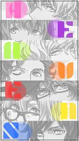 HE★VENS ロック画面 モノクロVer.の画像(プリ画像)