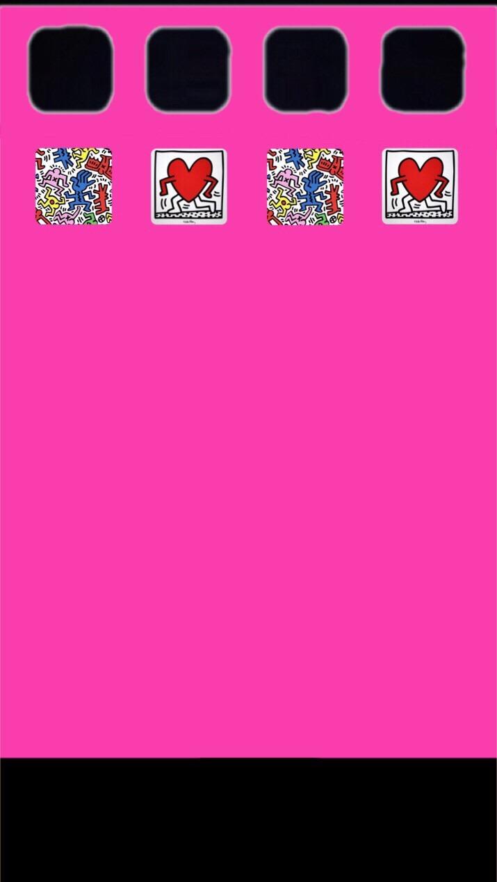 キースヘリング Iphone 壁紙 完全無料画像検索のプリ画像 Bygmo