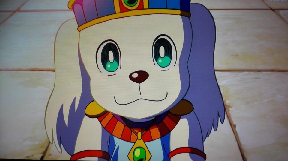犬キャラクターペコ