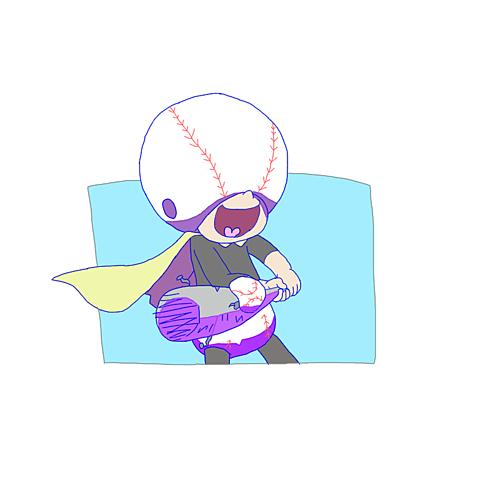 野球マンの画像(プリ画像)