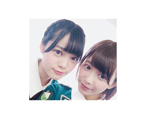 欅坂46 渡邉理佐 平手友梨奈の画像(プリ画像)