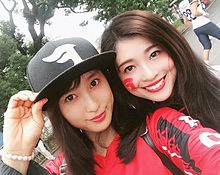 太鳳ちゃん❌姉の炎加さん(富士通フロンティアのチアリーダー) プリ画像