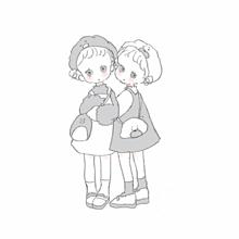 可愛いイラスト女子⸜❤︎⸝の画像(可愛いイラストに関連した画像)