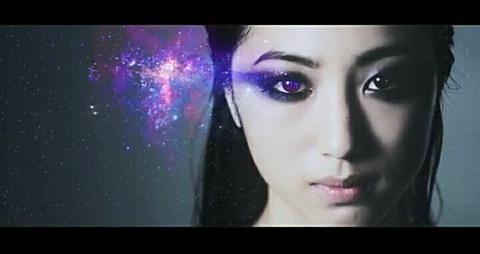 瞳の奥の銀河の画像(プリ画像)