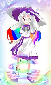 虹魔  紫星☆(にじましほ) プリ画像