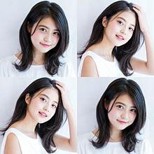 可愛い女の子 白素材黒平野紫耀キンプリ横顔 加工壁紙 プリ画像