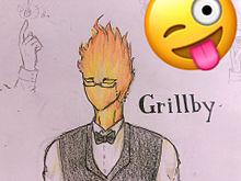 Grillby描いてみた(´∀`)の画像(アンダーテールに関連した画像)