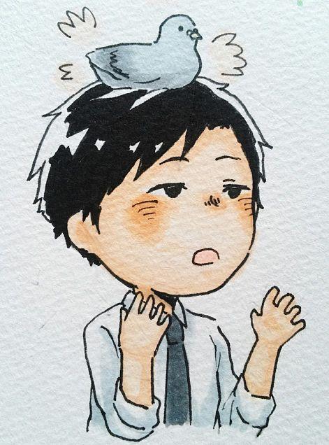 田崎と鳩の画像(プリ画像)