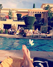 ホテルのプールの画像(ラスベガスに関連した画像)