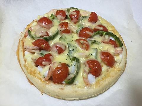 手作りピザの画像(プリ画像)
