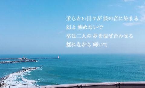 スピッツ 渚 歌詞画の画像(プリ画像)