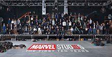 Congratulations on Marvel's 10thの画像(ハリウッドスターに関連した画像)
