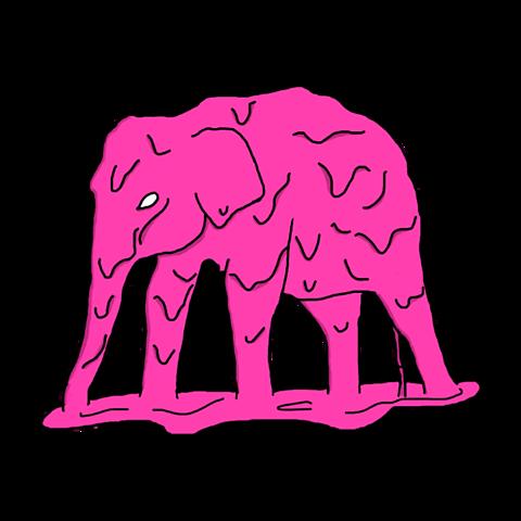 かわいい ピンク 背景透過の画像(プリ画像)