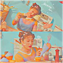 センイルチュッカヘヨ レッドベルベットイェリムいぇりむ紫ハートの画像(オレンジに関連した画像)