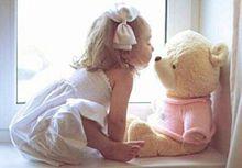 bear&girlの画像(bearに関連した画像)