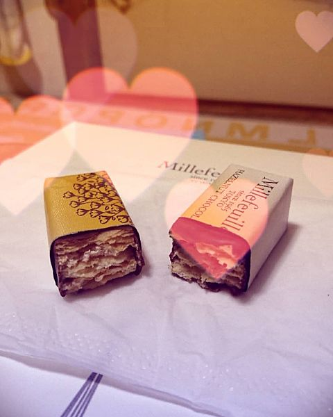 チョコレートミルフィーユの画像(プリ画像)