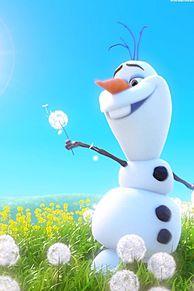 アナ雪のオラフ 超可愛い😆の画像(超可愛いに関連した画像)