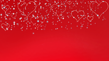ハート 雪の画像(クリスマスに関連した画像)