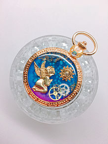 懐中時計No.12の画像(レジン作品に関連した画像)