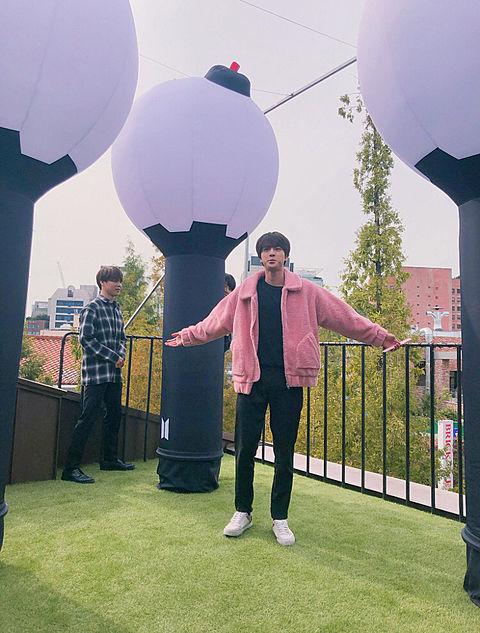 BTS ~♡ポップアップすとぅあ💕((もち応募したの画像 プリ画像